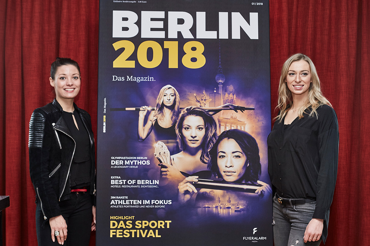 FLYERALARM Media, Präsentation Berlin 2018 - das Magazin